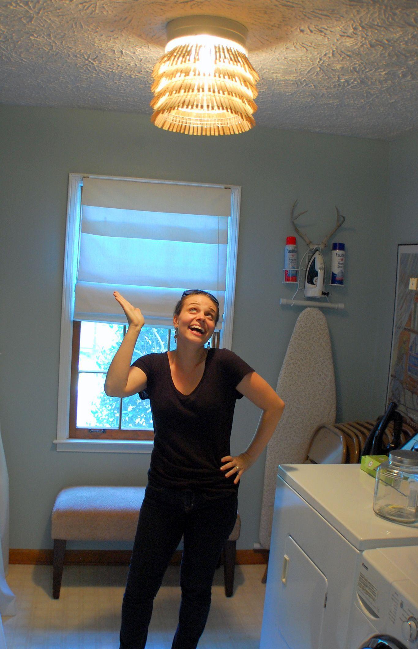Best Lighting For Laundry Room « Duwet  Cool lighting, Laundry