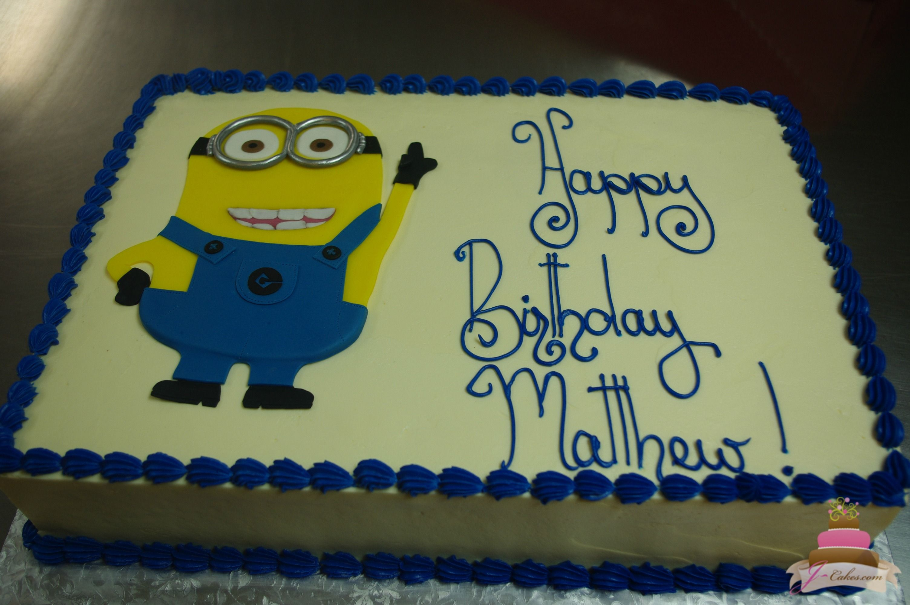Birthday Cake Images Minions ~ Minion sheet cake cakes cake birthdays and