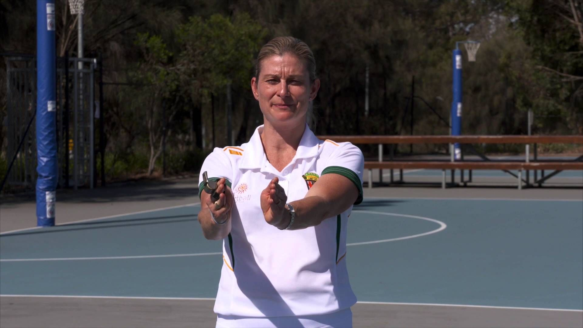 5 What S New In The Rules Of Netball Umpire S Hand Signals Sport Netball Netball Australia Physical Education