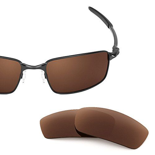 00d70325a8293 Revant Replacement Lenses for Oakley Square Wire 3.0 Polarized Bronze Brown