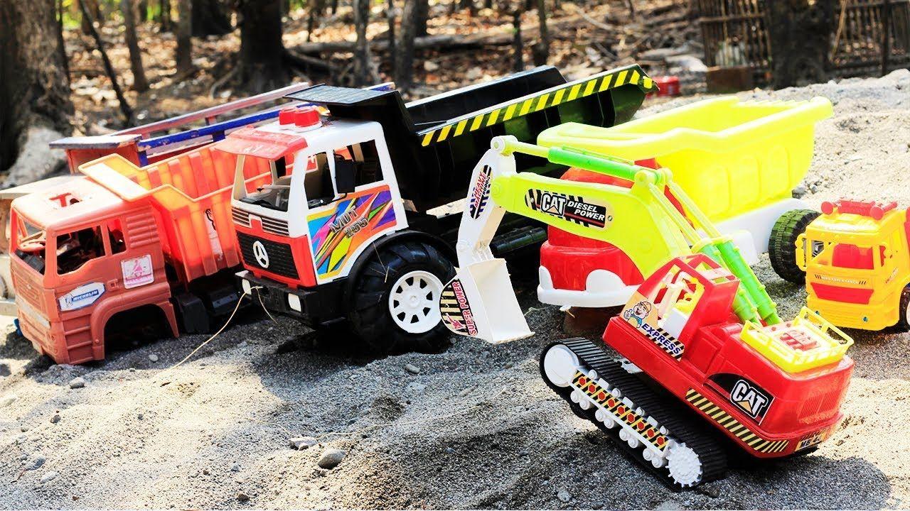 Mainan Mobil Mobilan Truck Excavator Beko Molen Truk Pasir Mobil Pasir Mainan