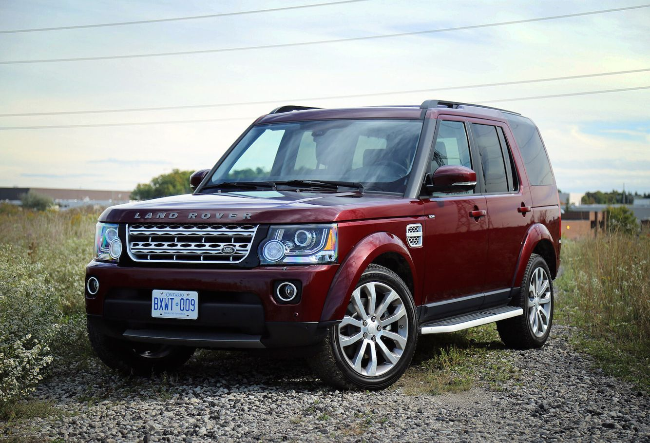 A beautiful 2016 Land Rover LR4 (AKA Discovery 4) in HSE