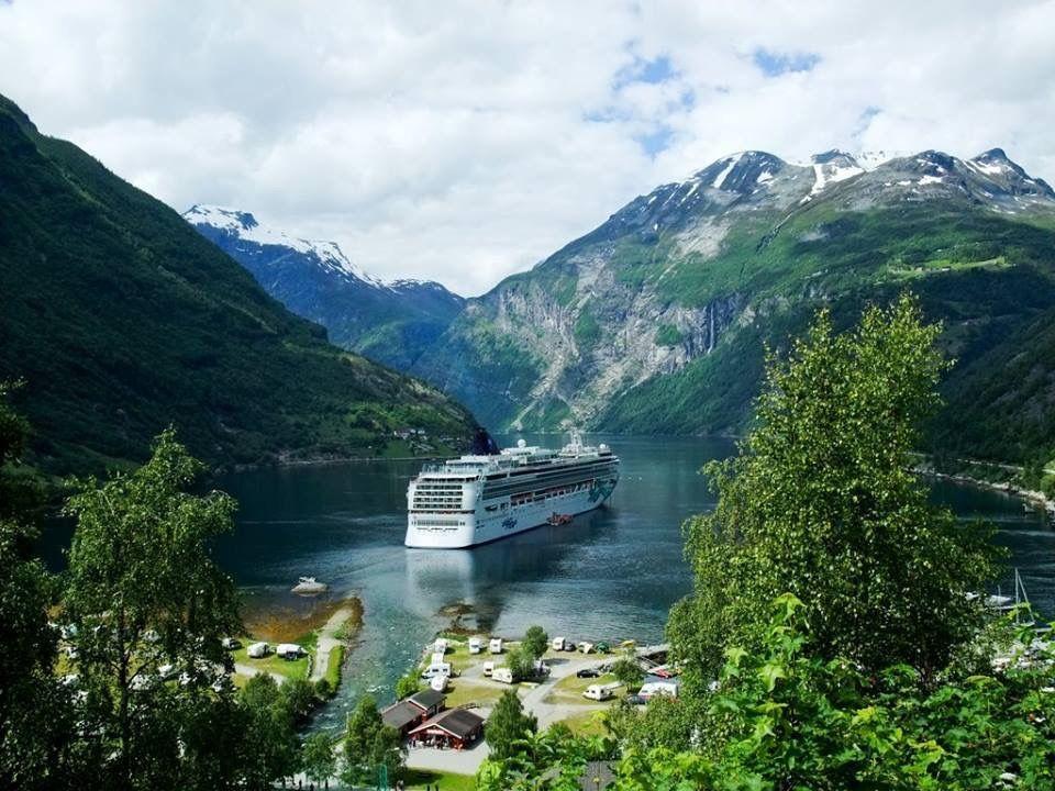 Geiranger Fjord Norway Scandinavian Cruises Cruise Destinations Norway Fjords