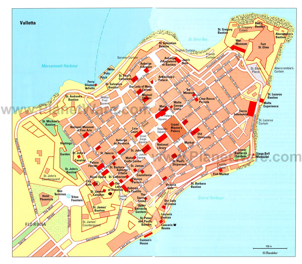 12 Top Rated Tourist Attractions In Valletta Planetware Valletta Tourist Attraction Tourist