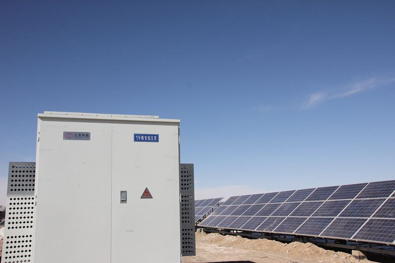 20MWp Solar Farm Location: Delhi, Qinghai, China Inverter: Surpass Sun Electric 500 KTL x 20 units Panel Supplier: Risen Energy Co., Ltd