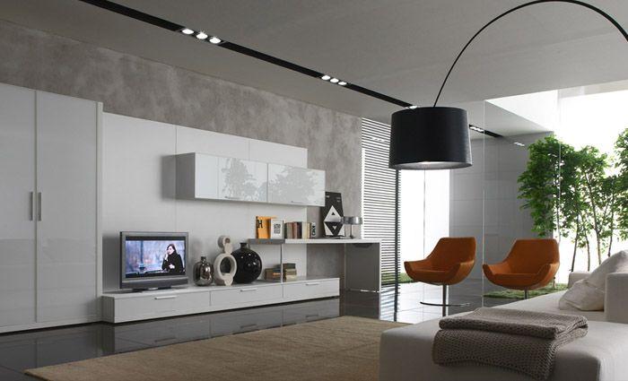 moderne verlichting woonkamer - Google zoeken   Ideeën voor het huis ...