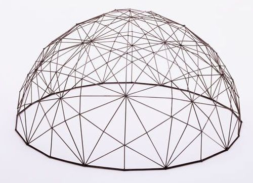 Obsessing over triangles, hexagons, geodesic forms lately