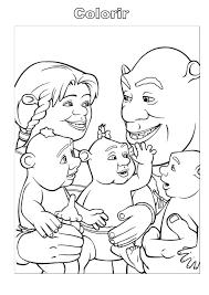 Resultado De Imagem Para Desenhos Para Colorir De Shrek Desenhos