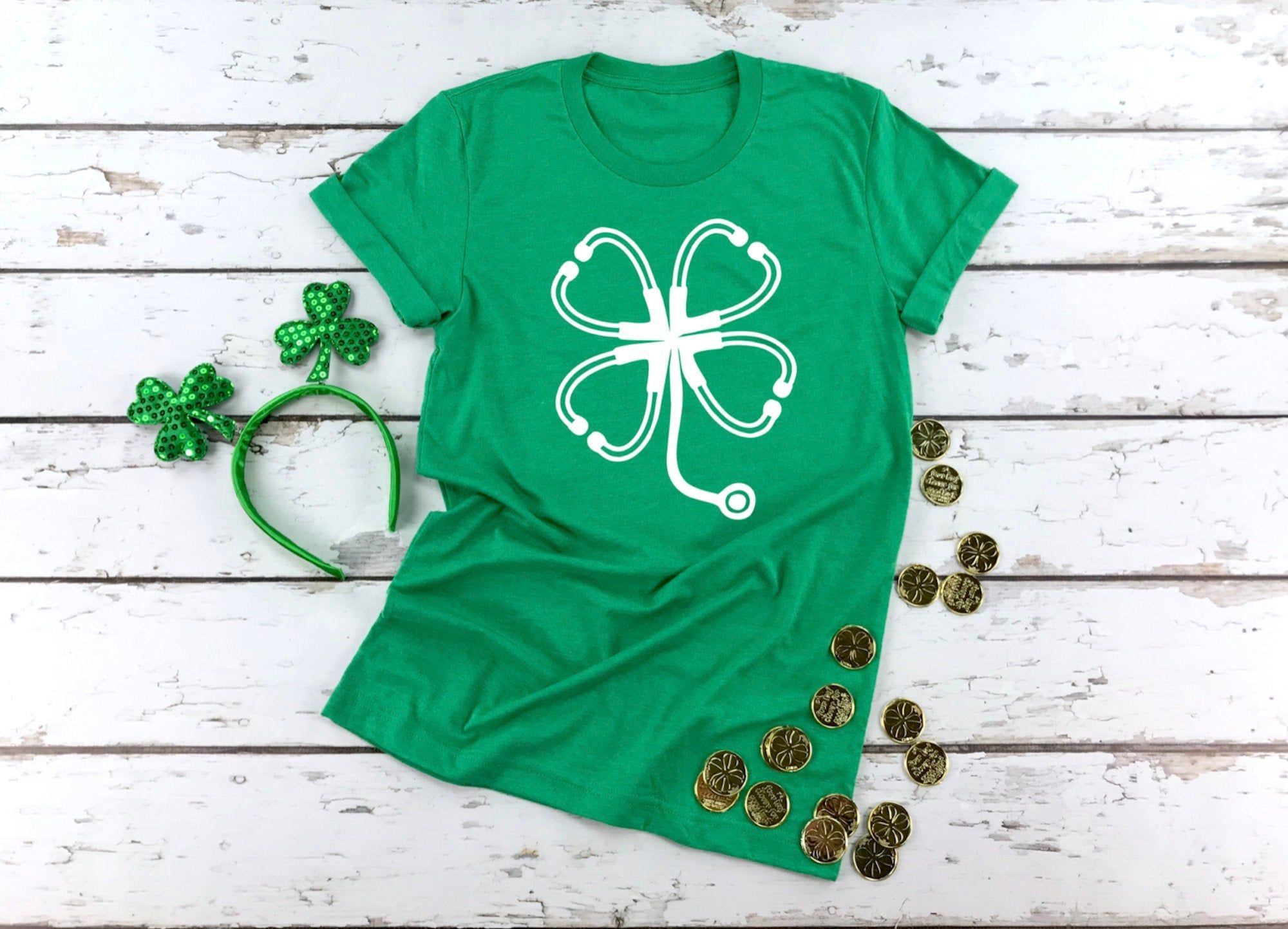 Unique Baby Boys Clover Patch Wagon St Patricks Day Outfit Shirt