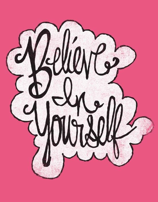 BELIEVE IN YOURSELF by Matthew Taylor Wilson motivationmonday print inspirational black white poster motivational quote inspiring gratitude word art bedroom beauty happiness success motivate inspire