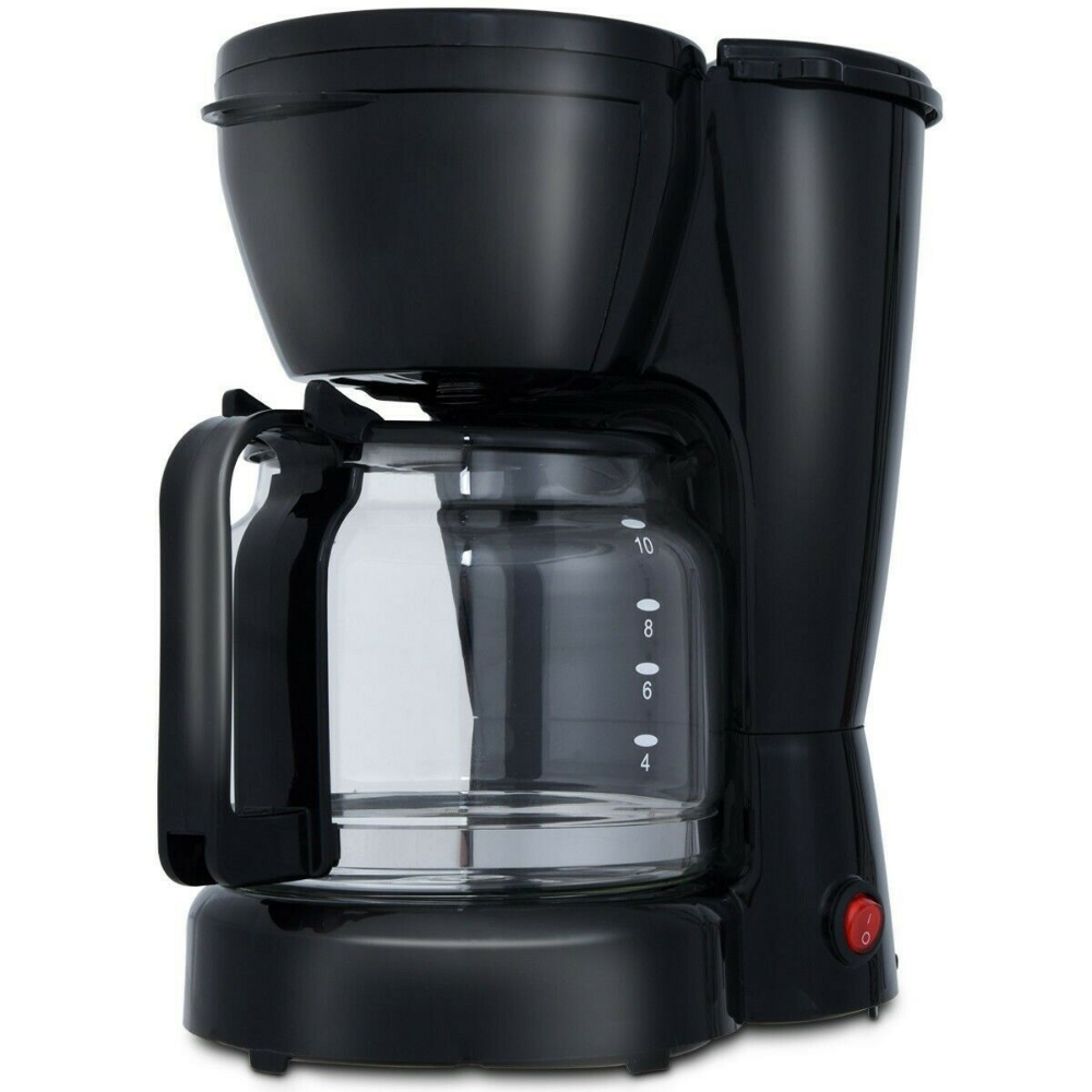Details about 900 W 10Cup Coffee Maker Machine with Glass
