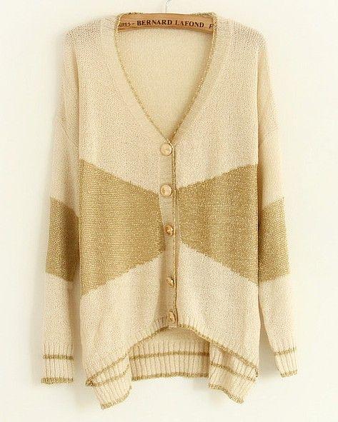 Beige long sleeve irregular shrug | Wardrobe | Pinterest | Best ...