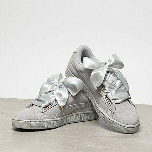 6b1adf9ee2b Puma Suede Heart Satin gray violet/gray violet | Shoe Factory ...