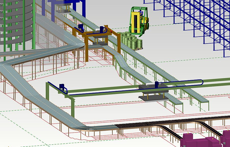 2D to 3D Factory Design Software   MPDS4 FACTORY LAYOUT   INDUSTRIAL ...