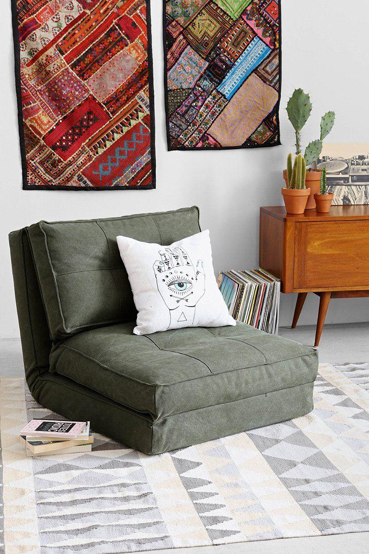 4040 Locust Canvas Floor Chair  UOHome  Apartment