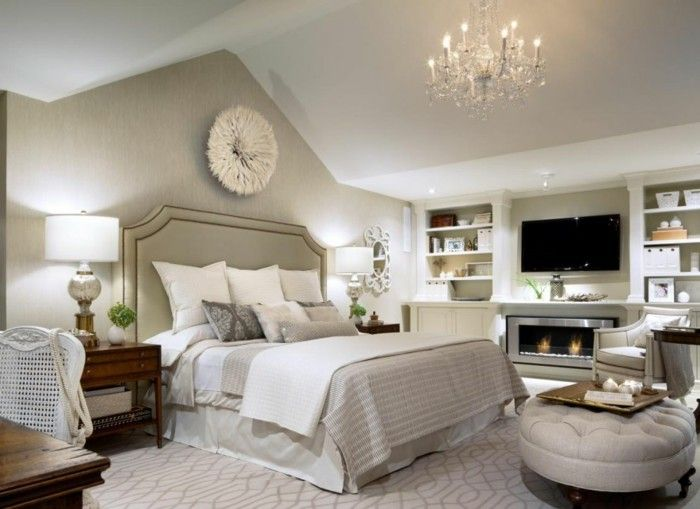 deko ideen schlafzimmer beige w nde offene regale wanddeko. Black Bedroom Furniture Sets. Home Design Ideas