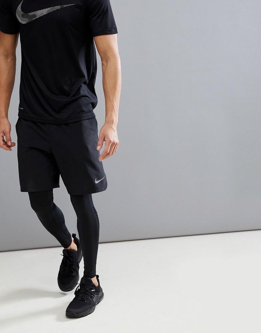 repertorio compañero Mala fe  Nike Black Flex Vent Max 2.0 Shorts for men | Training outfit men, Sporty  outfits men, Mens running clothes