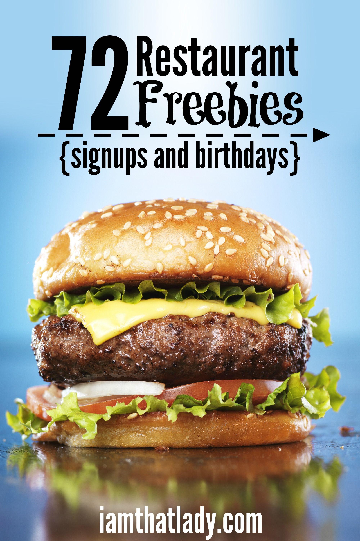 best 25 restaurant coupons ideas on pinterest birthday freebies