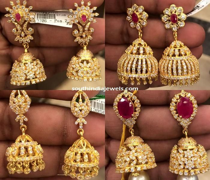 Large Statement Jhumka-Tribal Earrings-Red Crystal Beads And Round Jhumki-Tribal Jewellery-Silvestoo India PG-128236 arxYKR
