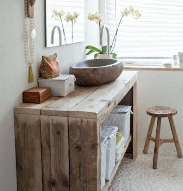 meuble ancien salle de bain meuble salle de bain bois 35 photos de