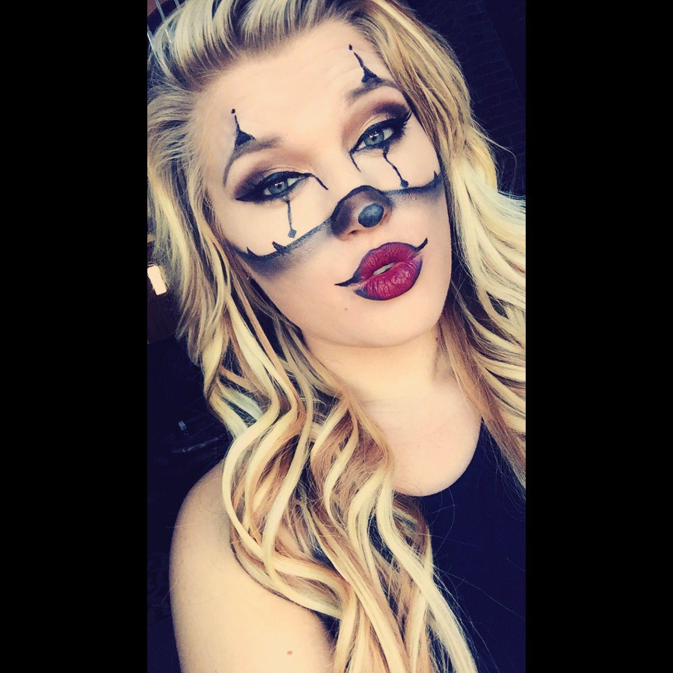 #chrisspy #gangster #clown #halloween #makeup | Makeup | Pinterest | Halloween Makeup Makeup ...