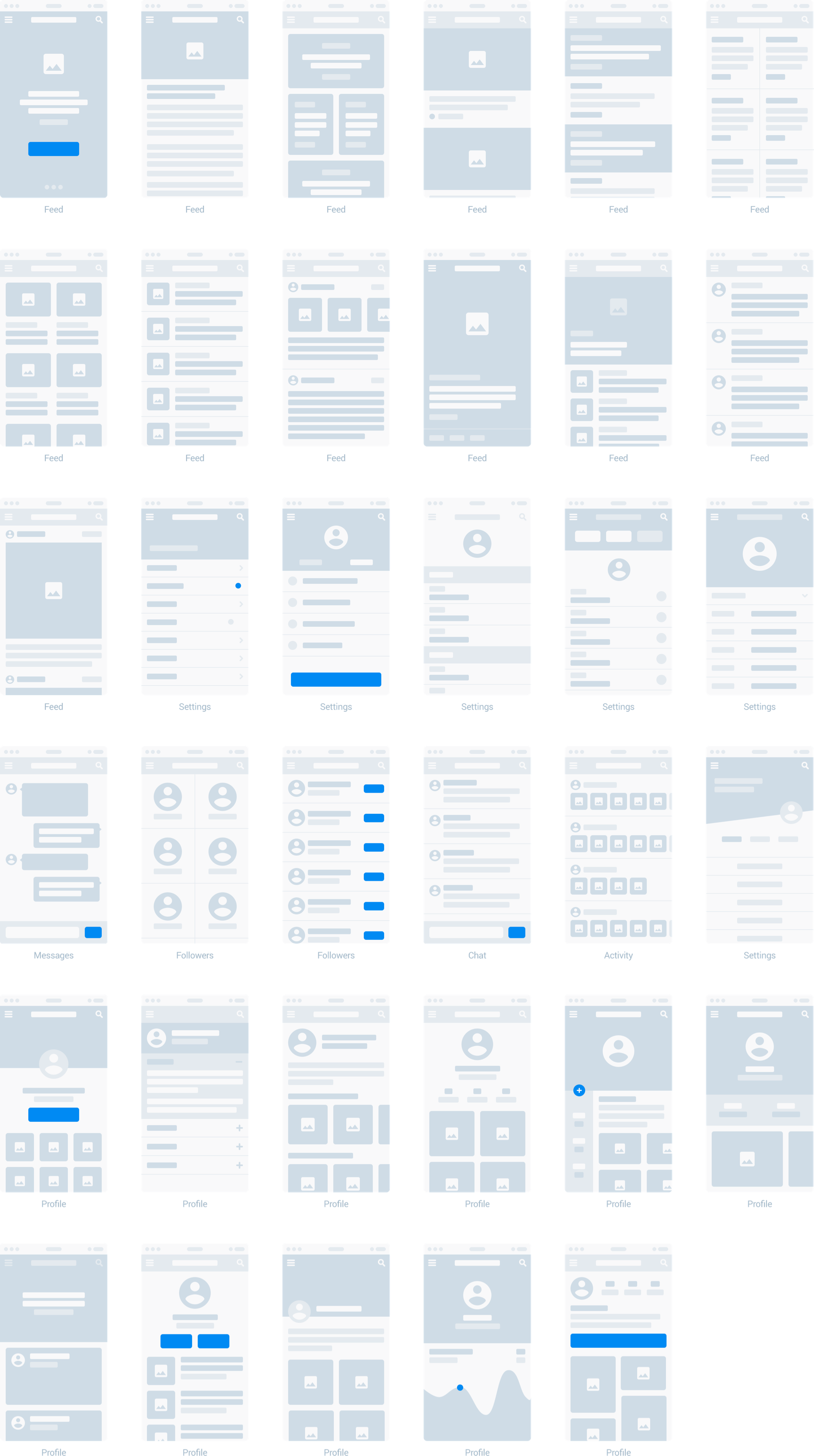 Wireframe Prototyping System For Web And Mobile Projects For Sketch App Available In 4 Colors Wireframe Design Wireframe Web Design