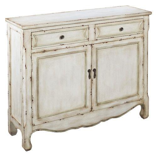 Coast to Coast Imports LLC Jaxson 2 Drawer 2 Door Cabinet | WCB ...