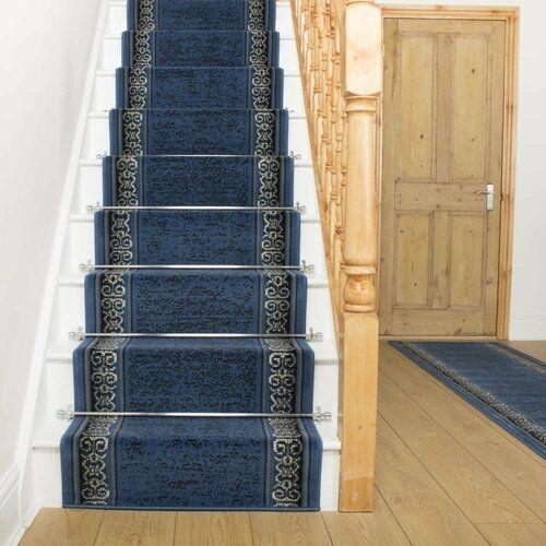Rosalind Wheeler Innen-/Außenteppich Altigarron in Blau | Wayfair.de