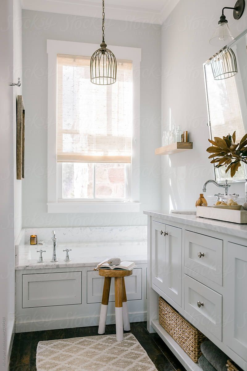 Https Www Stocksy Com 2399438 Modern Cottage Style Bathroom