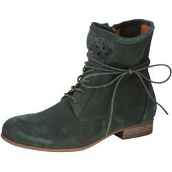 Photo of Lace-up ankle boot bell dark green Happy-size.de
