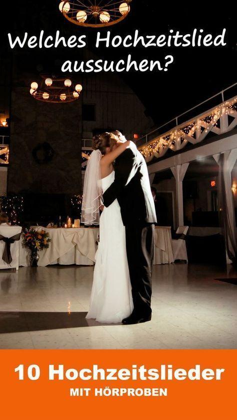 Die 50 schönsten Hochzeitslieder - für viele emotionale