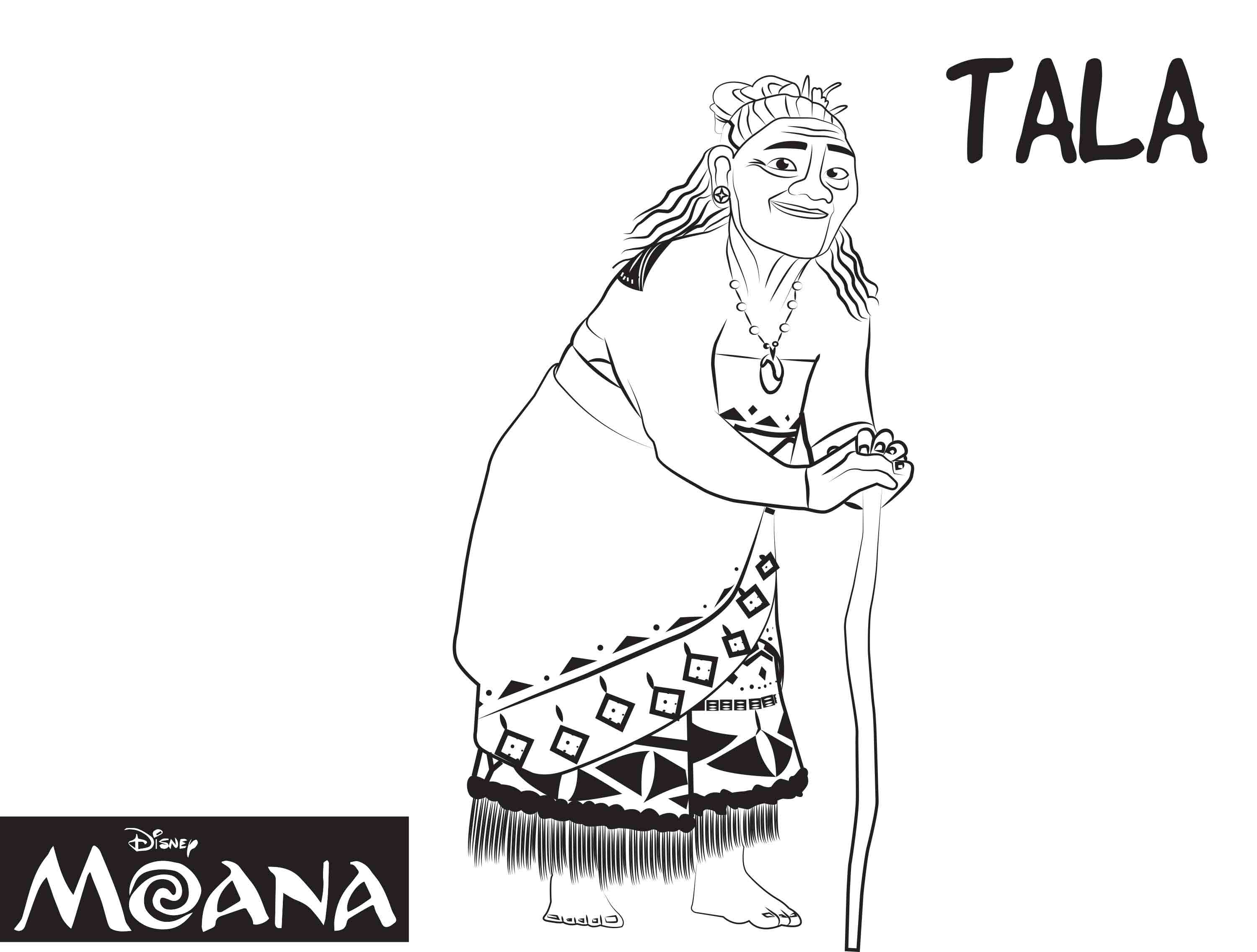 Coloring pages disney moana - Coloring Pages Disney Moana 38
