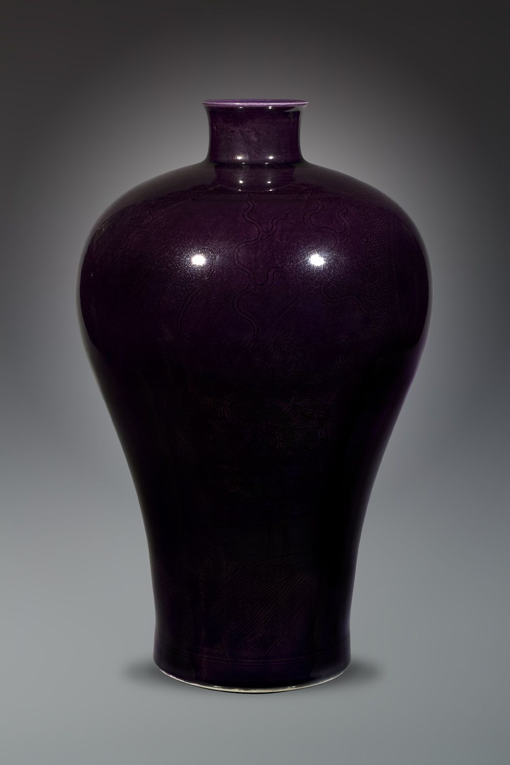 Pin By On Ancient China In 2018 Pinterest Qing Dynasty Wire Diagram Eggplant Purple Chinese Auction Plum Glaze