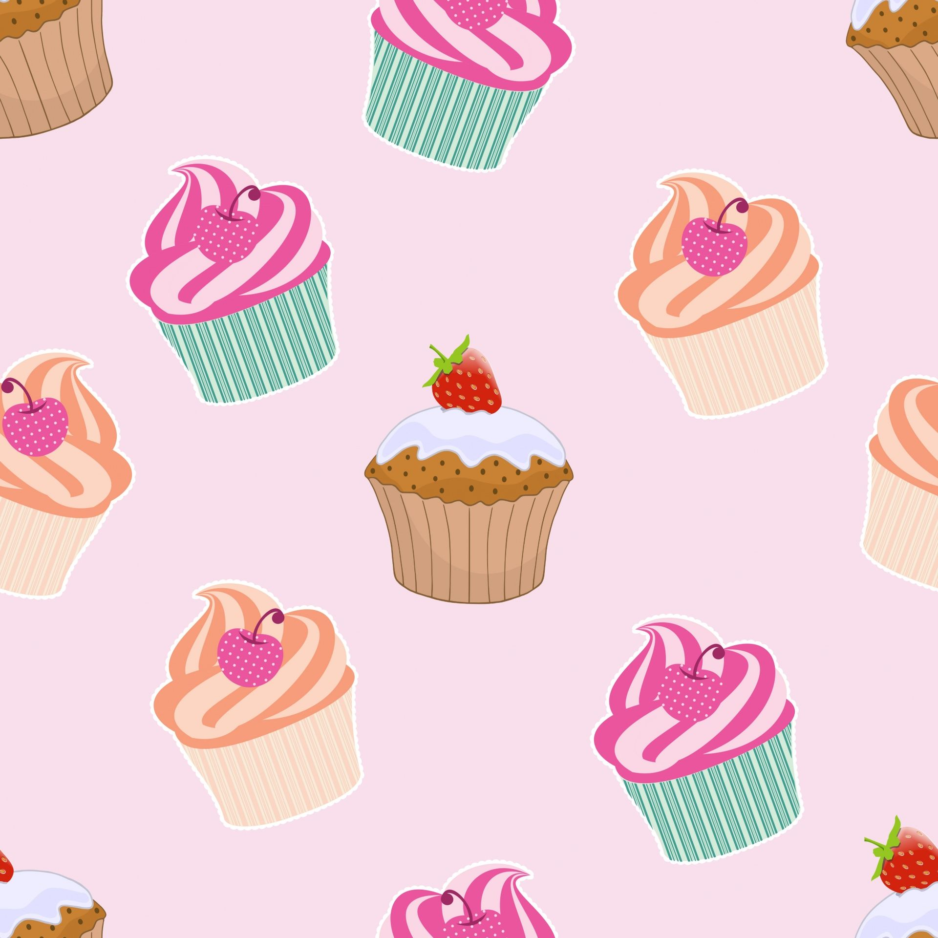 cupcakes and muffins wallpaper cupcakes wallpaper hello kitty images pink images cupcakes and muffins wallpaper