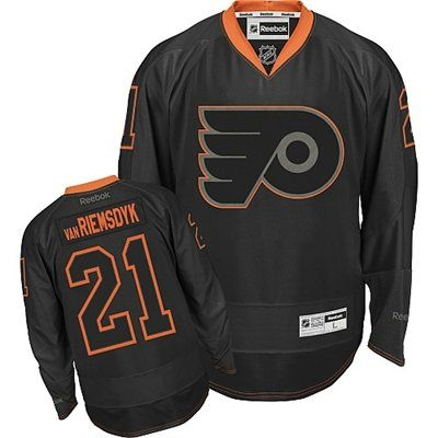 official photos 259f4 f6479 Reebok Philadelphia Flyers James van Riemsdyk Black Ice ...