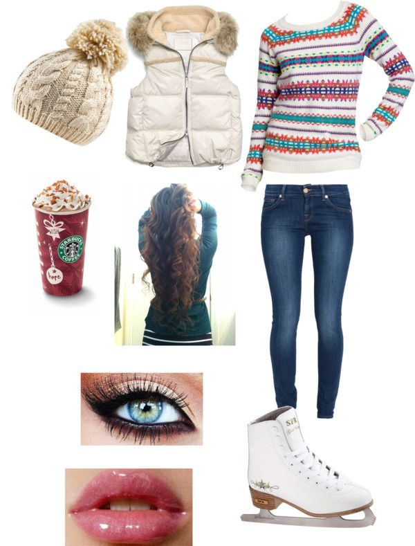 """""""Ice Skating With The Boyfriend 3"""" by alishacelley ❤ liked on Polyvore"""