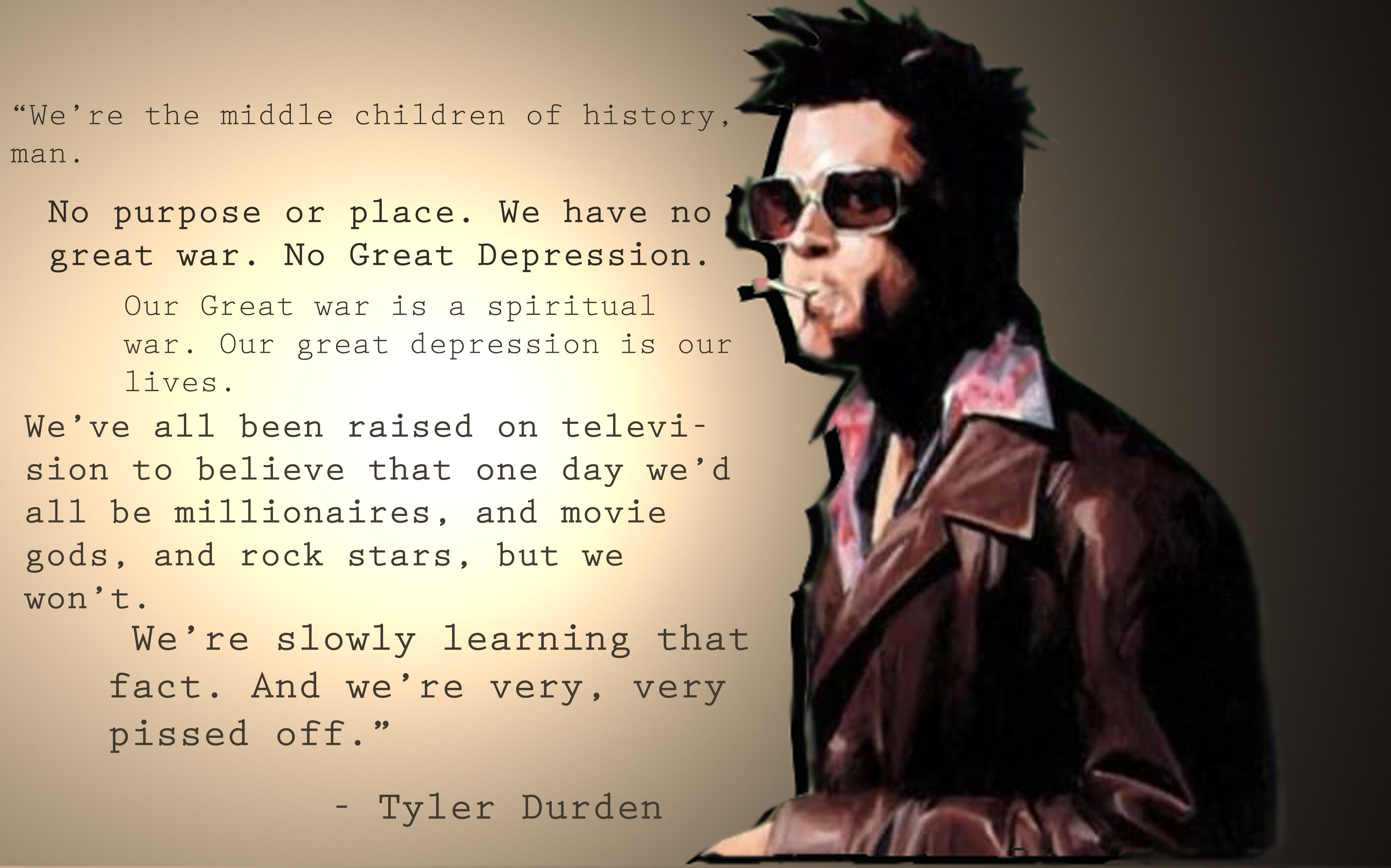 Fight Club: 10 quotes by Tyler Durden to inspire you to a new life
