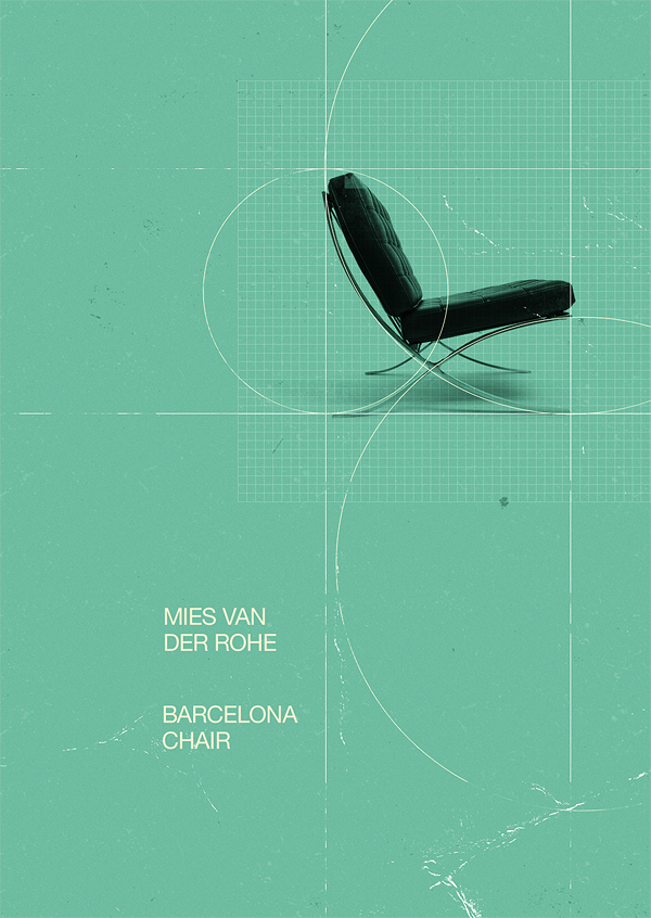 Barcelona Chair | Designer: Marius Roosendaal - http://msced.mariusroosendaal.com