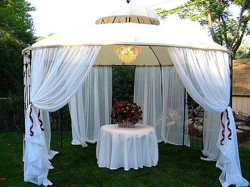 Gazebo Decor Please Help Gazebo Wedding Decorations Gazebo
