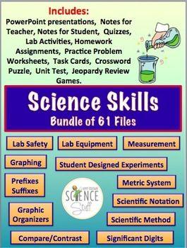 Science Skills Bundle Metrics Measurement Scientific Method Graphing Science Skills Scientific Method Scientific Writing