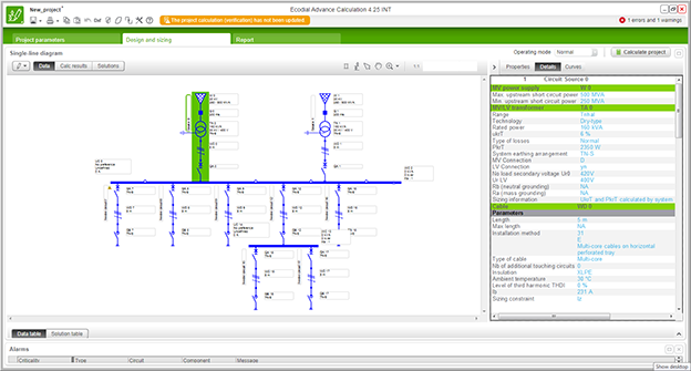 ecodial is low voltage electrical installation design software developed by schneider  electric  it actually calculates