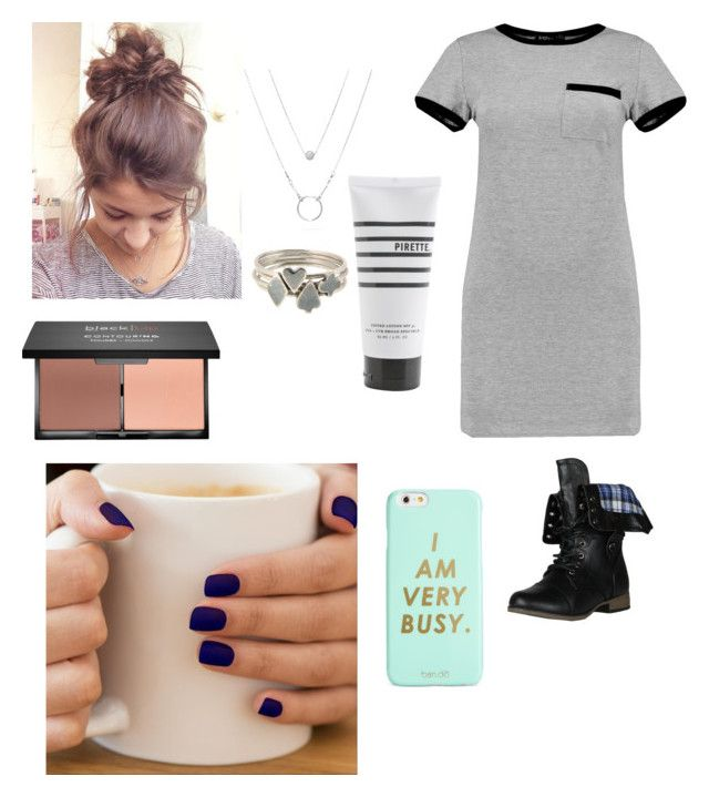"""What ever"" by miaaking on Polyvore featuring MARA, Sian Bostwick Jewellery, blacklUp, Pirette and ban.do"