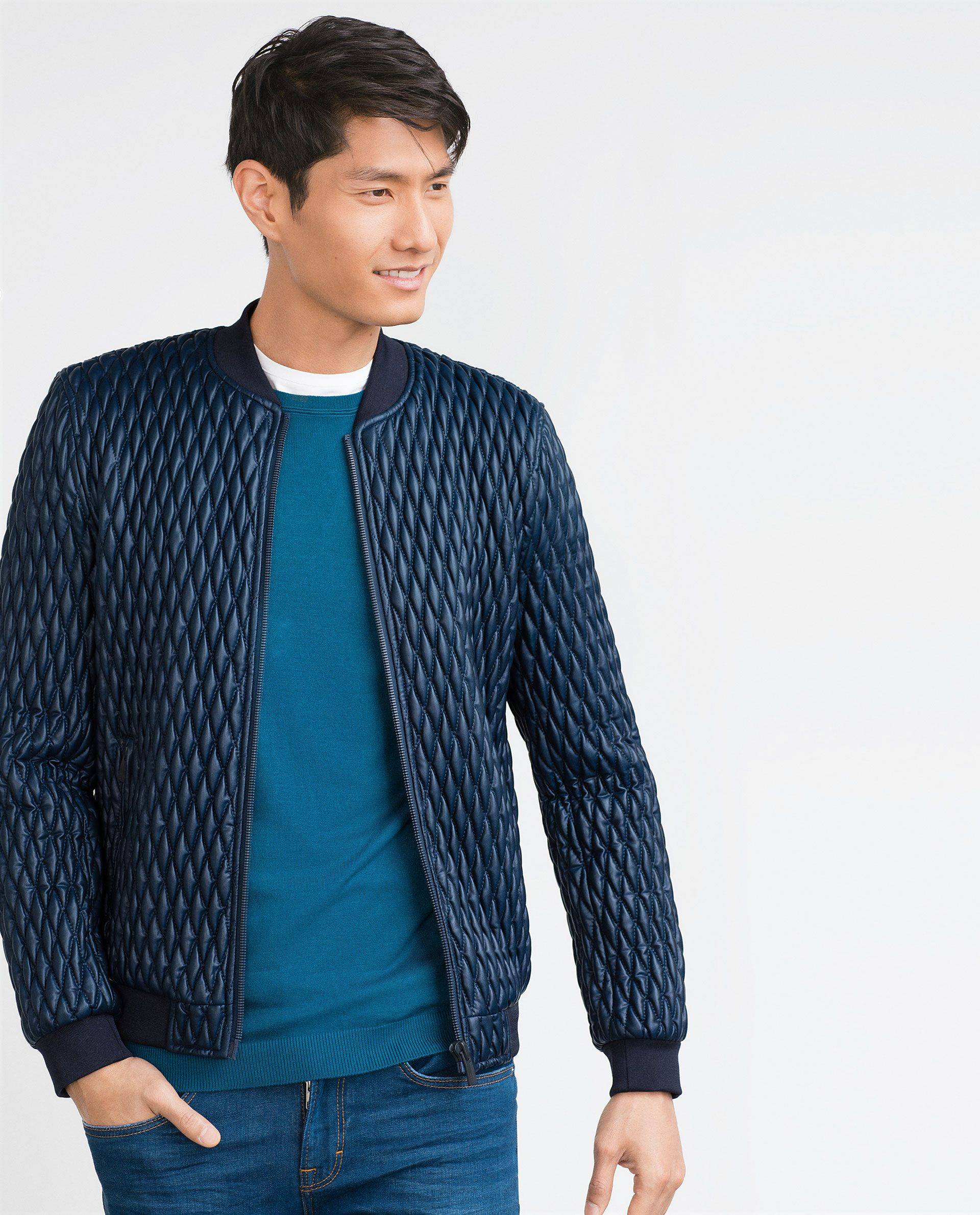 QUILTED JACKET - View all - Jackets - MAN | ZARA Canada | Jackets ... : quilted sweaters - Adamdwight.com