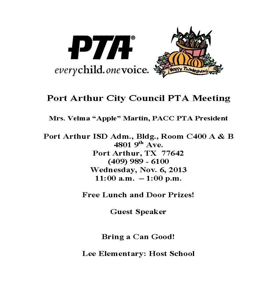 pto meeting flyer template newsletter template 2018 newsletter