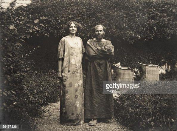 Gustav Klimt With Emilie Floege In Rowing Boat On Atter Lake Klimt Gustav Klimt Woman In Gold