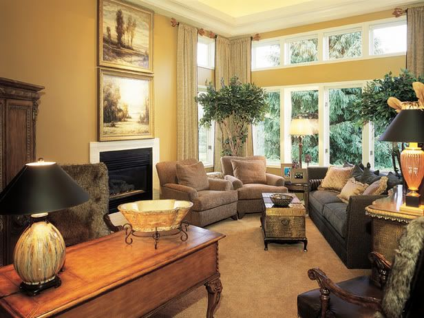 living room arrangements for long narrow room | Here's a ...