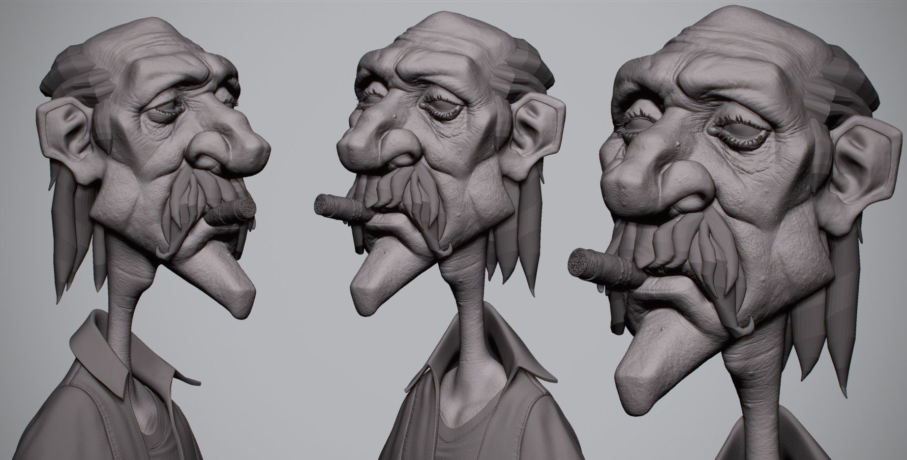 ArtStation - Gettin Too Old For ThisS, Antone Magdy