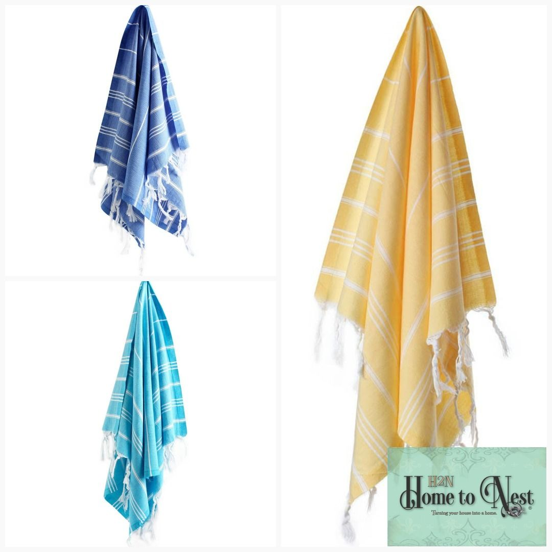 A Pestemal Is A Traditional Turkish Towel Traditional Turkish
