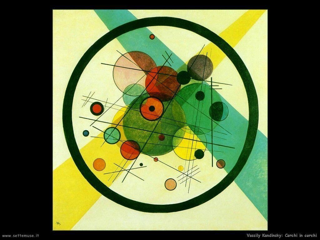 Wassily Kandinsky Pittore Opere Quadri Settemuseit Wassily