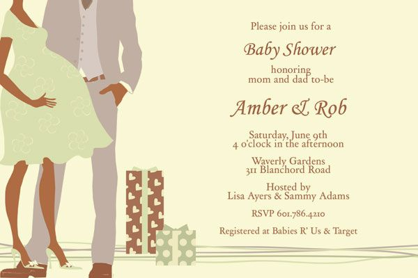 17 Best images about Perfect Couple Baby Shower Invitations Design ...